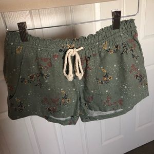 Adorable Roxy Shorts With String